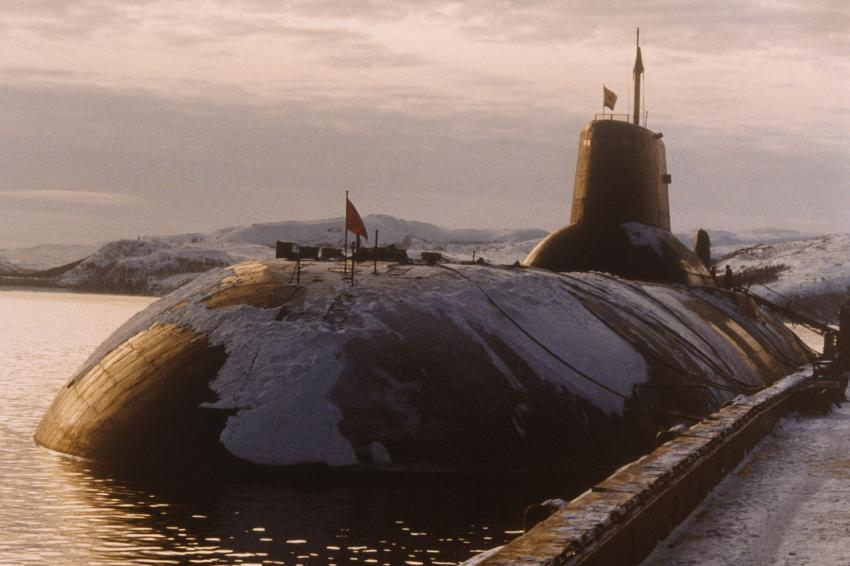 Typhoon Class Submarines in Murmansk